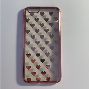Metallic Heart iPhone Case